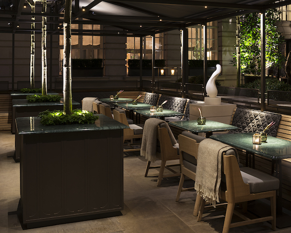 Courtyard Terrace at the Holborn Dining Room