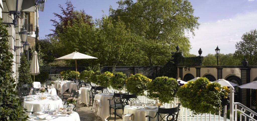 The Ritz Restaurant Terrace