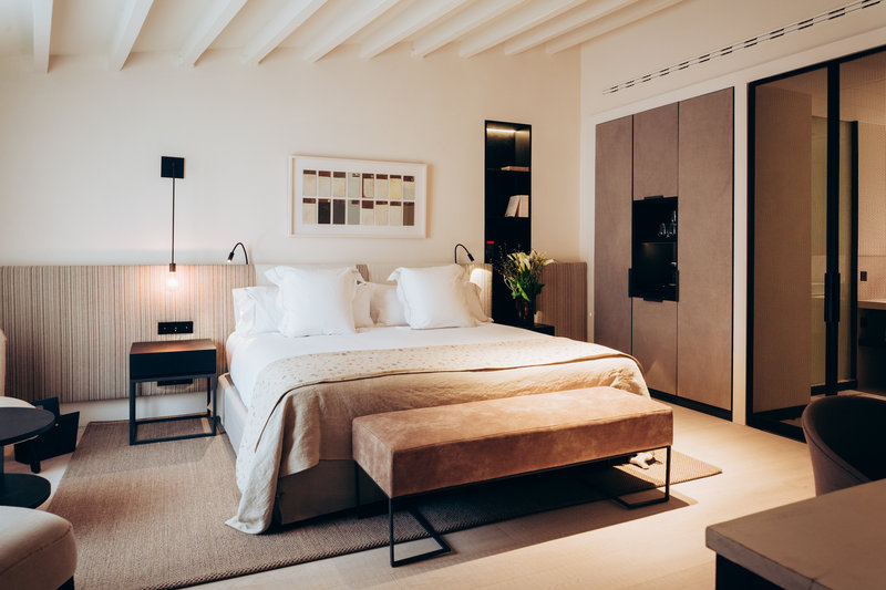 The rooms at Hotel Sant Francesc in Palma
