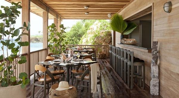Half Shell restaurant at Viceroy Anguilla