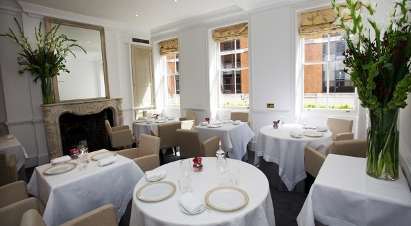 The dining room at Gauthier Soho