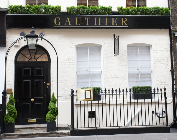 The entrance to Gauthier Soho