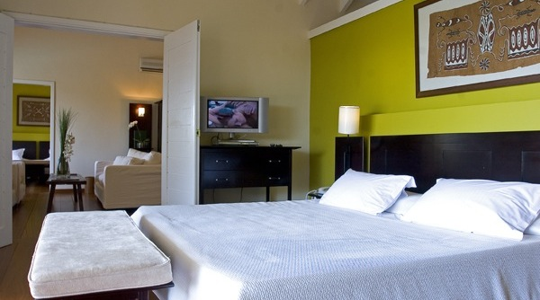 The rooms at Le Guanahani in St Bart's
