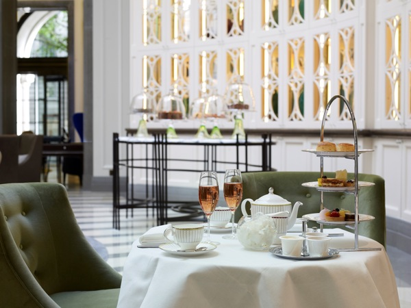 Afternoon tea at The Lobby Lounge at The Corinthia