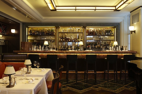 The bar at 34 in Mayfair