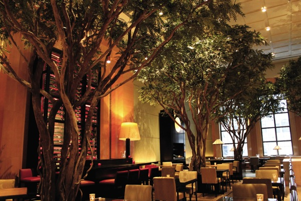 The enchanted garden at the Four Seasons New York