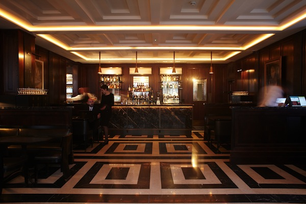 The Bar at The Delaunay Restaurant in Covent Garden