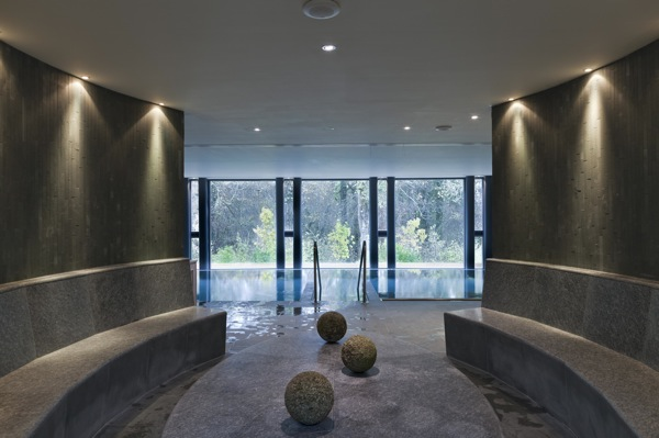 The spa at Lime Wood Hotel