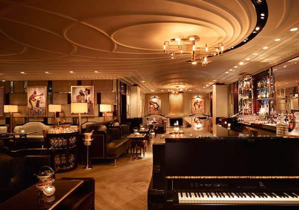 the Bassoon Bar at The Corinthia London