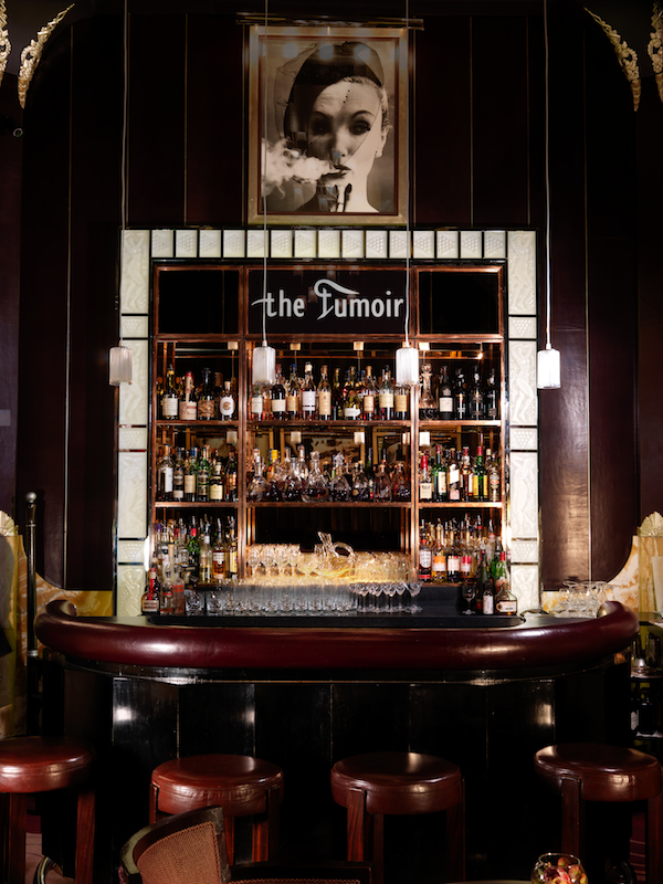 The Fumoir at Claridge's