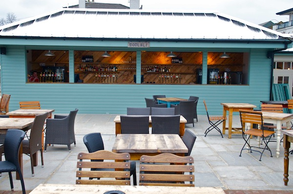 The terrace at The Ship Wandsworth