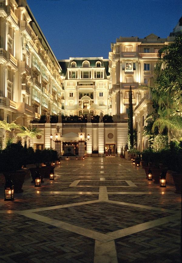 The Belle Epoque exterior of the Hotel Metropole Monte Carlo