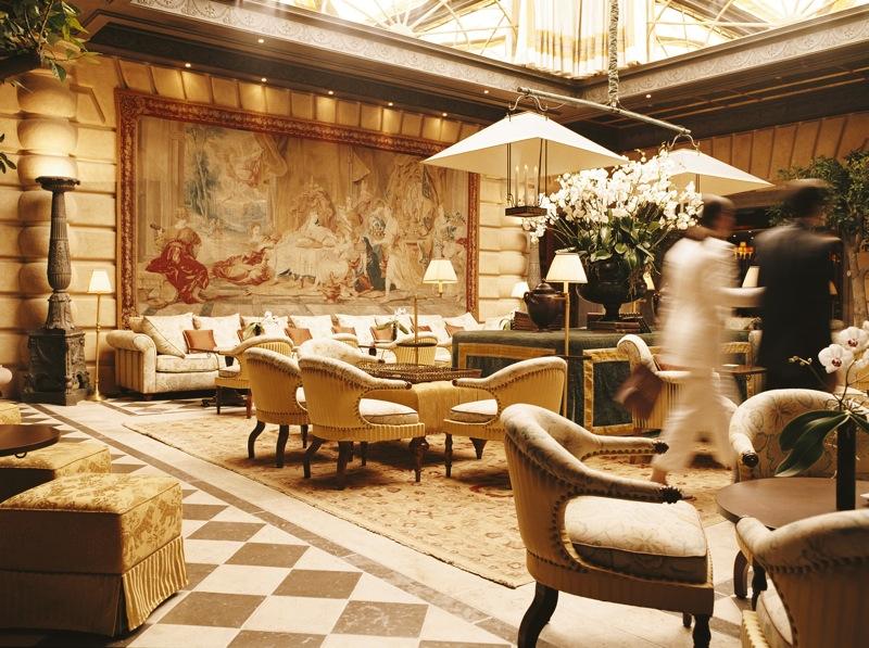The interior of the Hotel Metropole Monte Carlo