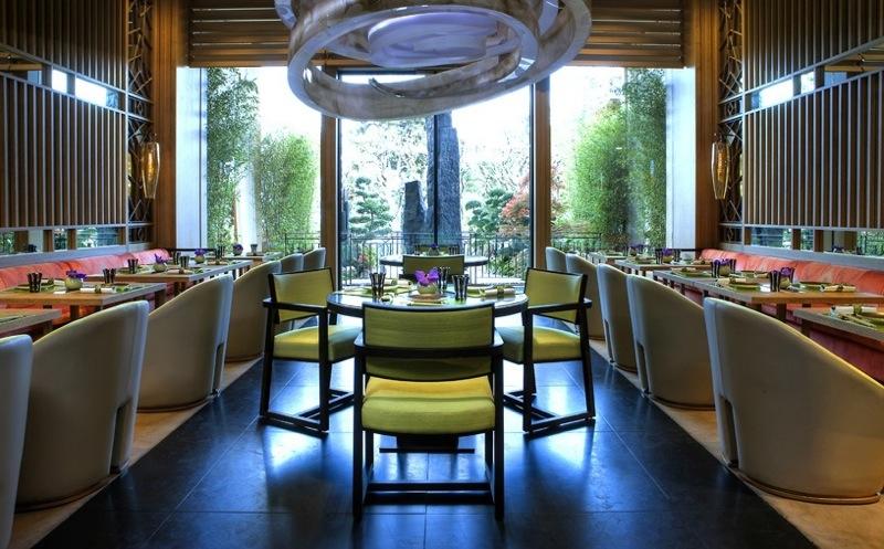 Joel Robuchon's YOSHI restaurant in Monaco