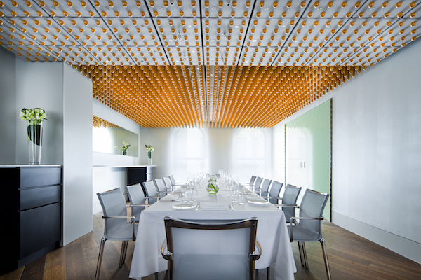 The private dining room at Ametsa at The Halkin