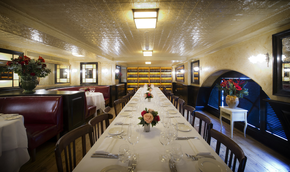 The private dining room at Balthazar London
