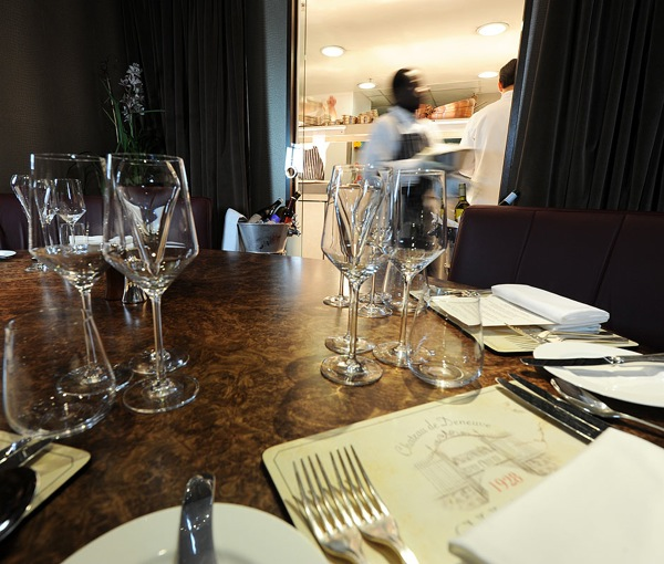 The private dining room at Corrigan's Mayfair