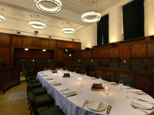 The Council Chamber at the Townhall Hotel