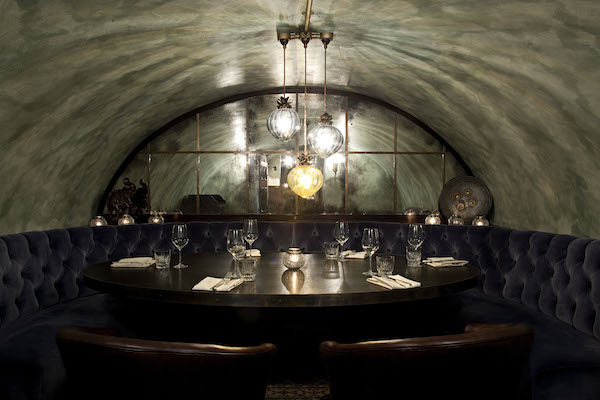 The private dining room at Gymkhana