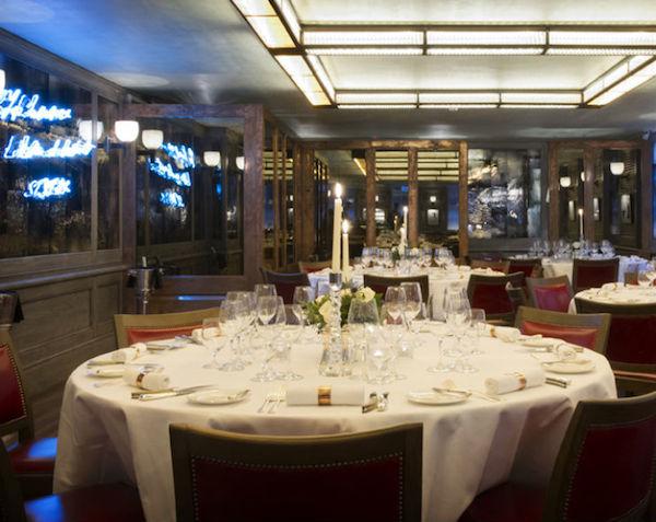 The Emin Room at 34 Restaurant