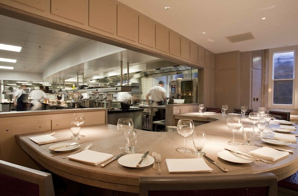 The Kitchen table at The Gilbert Scott