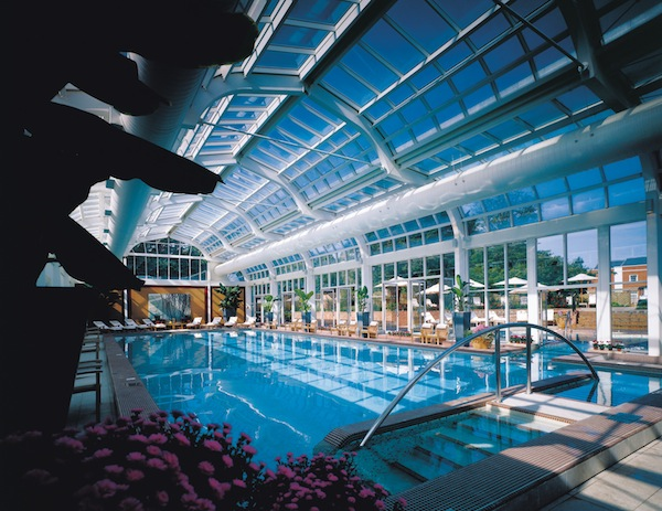 The pool at Four Seasons Hotel Hampshire
