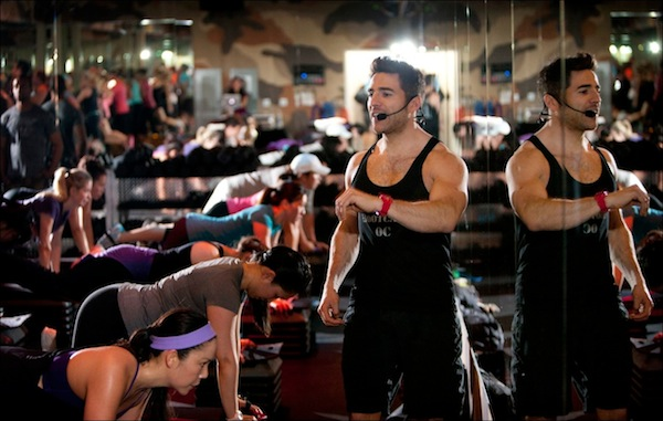 Barry's Bootcamp in Euston, London