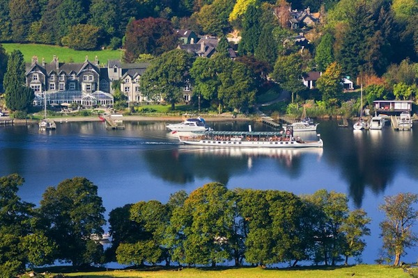 The Lakeside Hotel in the Lake District