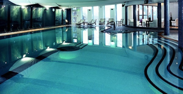 The spa at The Lakeside Hotel in the Lake District