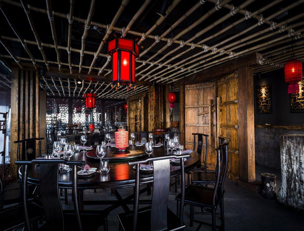 Private dining at Hutong