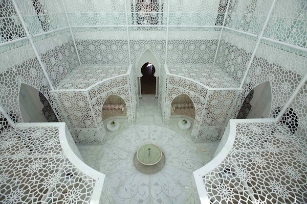 The spa at Royal Mansour in Marrakech