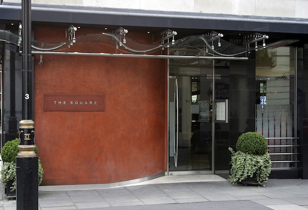 The Square restaurant in Mayfair
