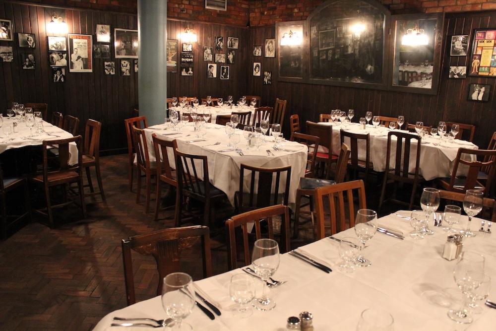 Joe Allen restaurant