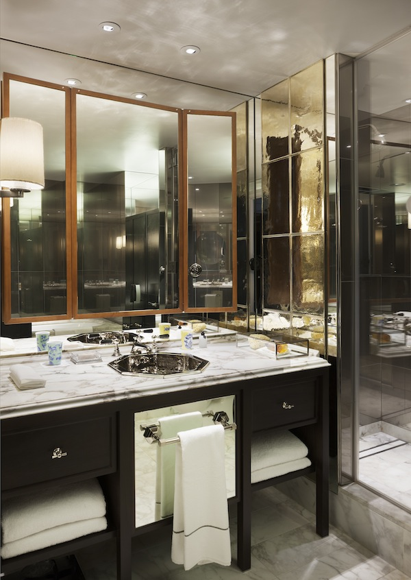 The bathrooms at Rosewood London