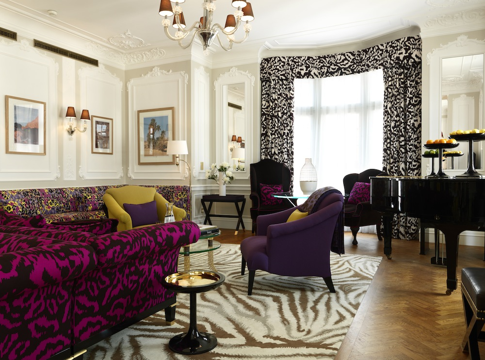 The DvF Piano Suite at Claridge's