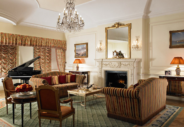 The Prince of Wales Suite at The Ritz