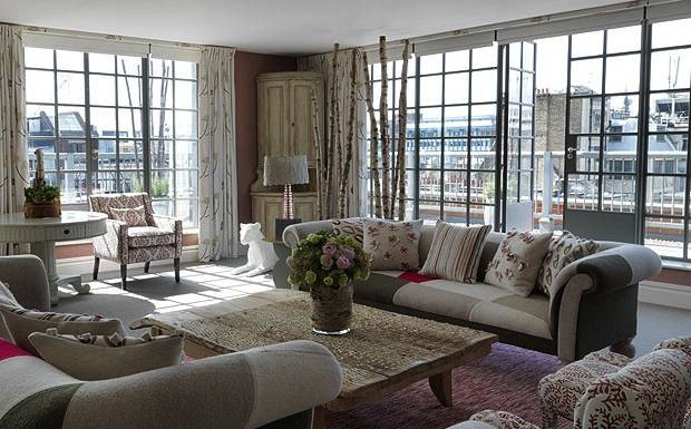 The Terrace Suite at The Soho Hotel