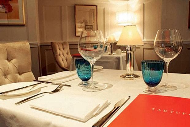 Tartufo Restaurant in Chelsea