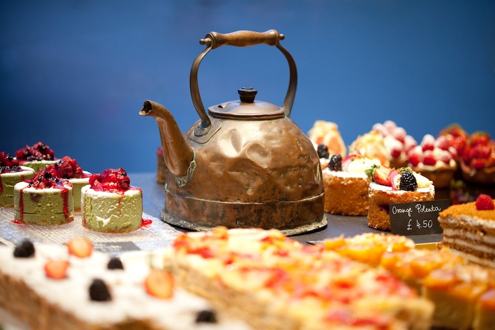 afternoon tea at L'Eto Cafe