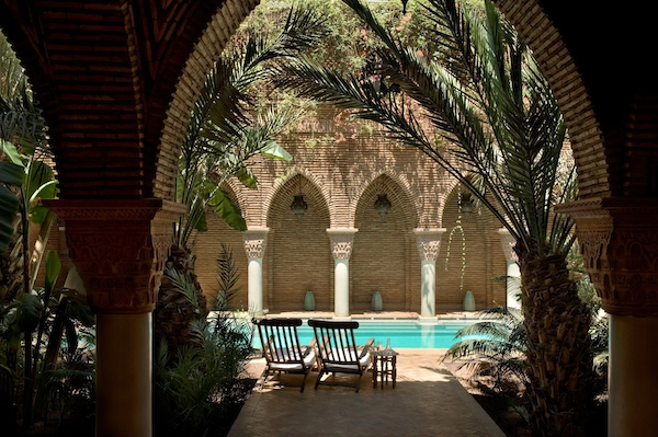 The pool at La Sultana in Marrakech