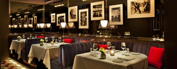 The Regency Bar and Grill at the Loews Regency Hotel in New York