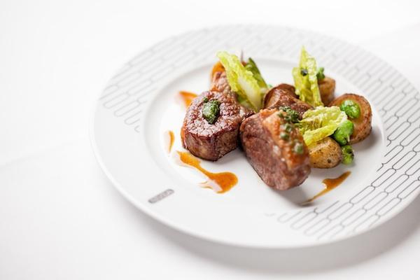 The food at Rivea London at The Bulgari London from Alain Ducasse
