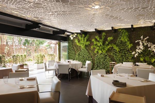 Dani Garcia restaurant at Hotel Puente Romano in Marbella
