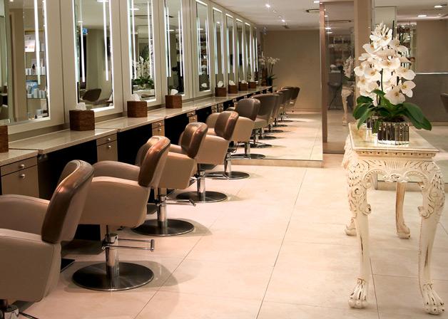 Michaeljohn hair salon in Mayfair
