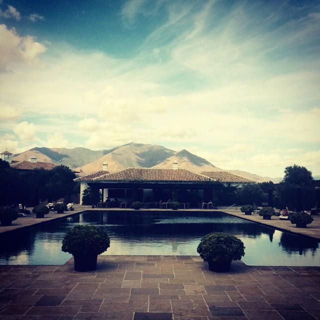 The pool at Finca Cortesin