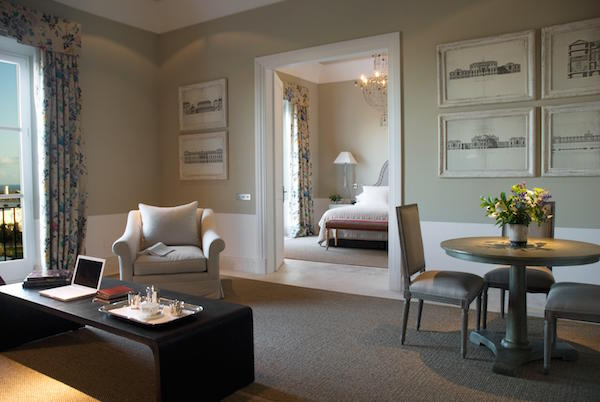 The bedrooms at Hotel Finca Cortesin
