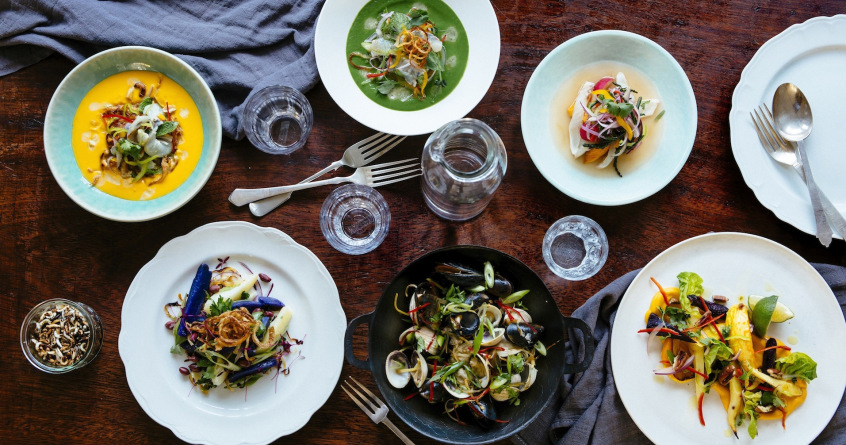 The food at Pachamama in  Marylebone