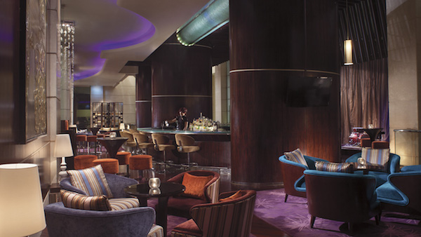 The bar at the Portland Ritz-Carlton in Shanghai