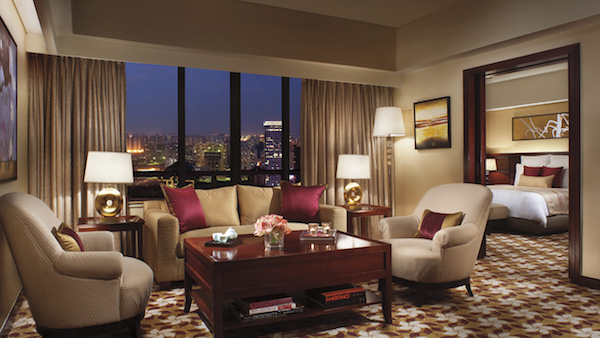 The rooms at the Portland Ritz-Carlton in Shanghai