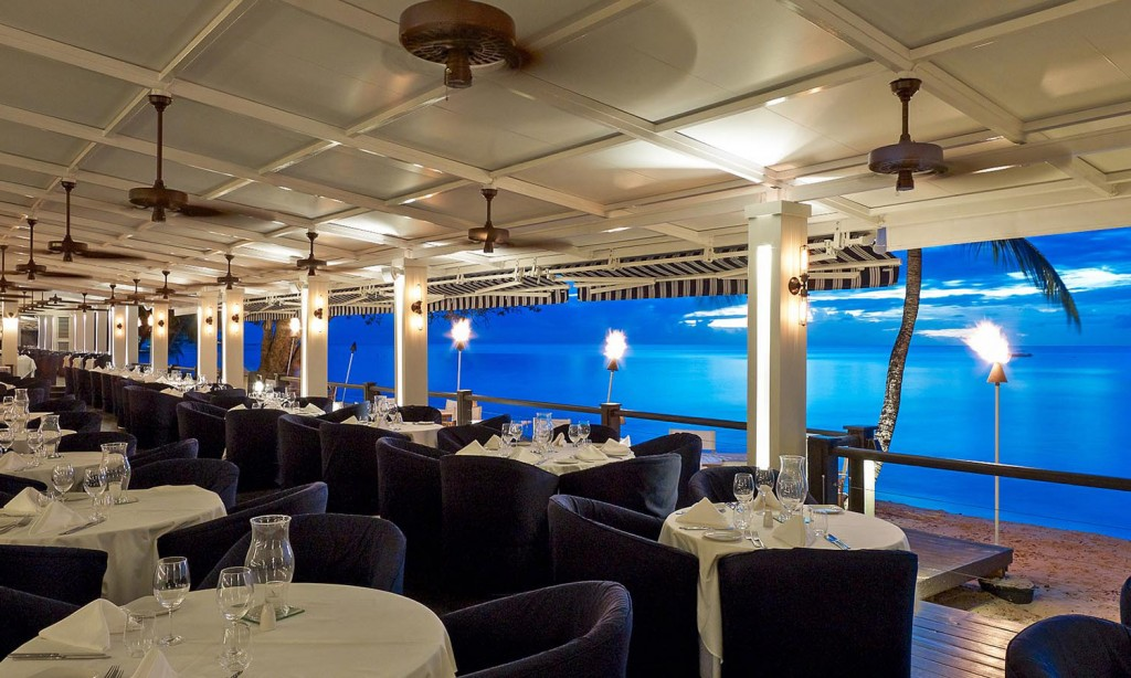 The Lone Star Restaurant in Barbados